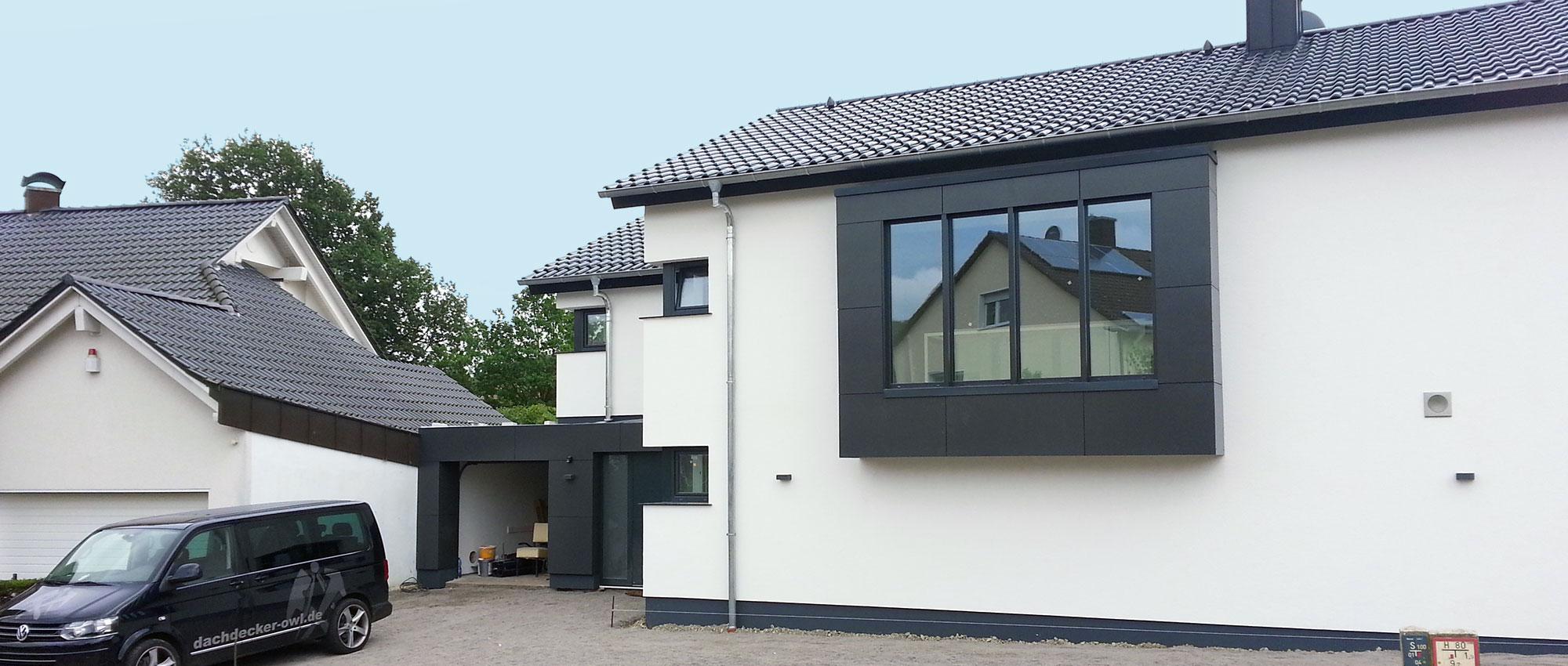 Fassadenverkleidung Dachdecker Owl Dachdeckermeister Jakob Petker